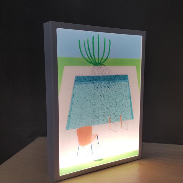 람프로스 아트콜라 LED 프레임 조명 B5